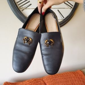 Zara Crab Loafers